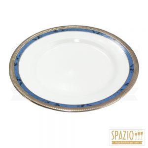 Pratos de Mesa Borda Azul