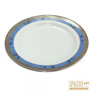 Pratos de Sobremesa Borda Azul