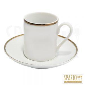 Xícara de Café Friso Ouro