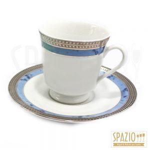 Xícaras de Chá Borda Azul