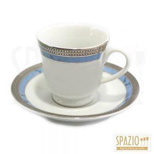 Xícaras de Café Borda Azul