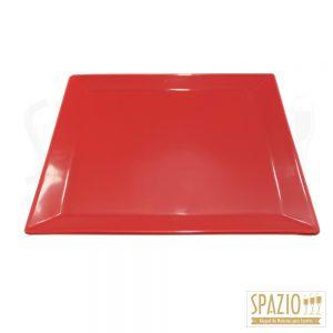 Quadrada Vermelha Rasa